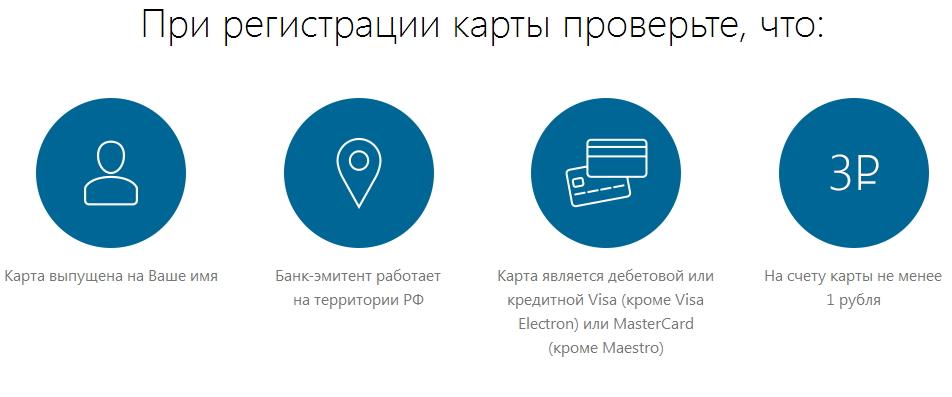 регистрация карты заемщика